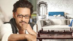 celebrity homes bollywood actor irrfan khan home youtube