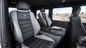 mercedes benz g class interior 2017 brabus 550 adventure 4x4 based on mercedes benz g class 4x4
