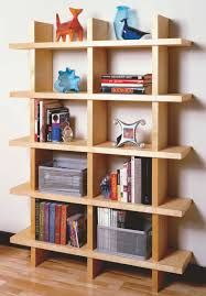 Modern Wooden Shelf Design by Aw Extra Contemporary Bookcase Popular Woodworking Magazine