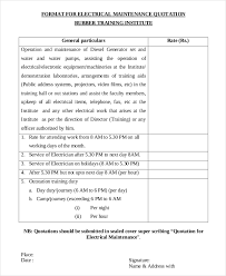 Electrical Estimate Template by Sle Project Quotation Construction Project Quotation 44