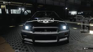 nissan skyline police car nissan skyline gt r r34 police the crew