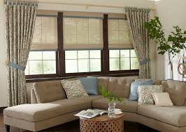 Soft Window Treatments See Examples Of Options - Family room window treatments