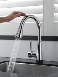 High Arc Kitchen Faucet Reviews by Kitchen Modern Polished Chrome Kitchen Faucet With Soap Dispenser
