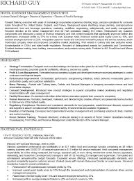 Hotel Management Resume Examples by Hotel And Resort Management Executive Resume Example