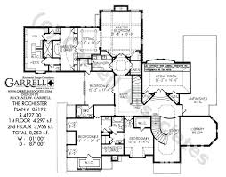 house plans floor master rochester house plan house plans by garrell associates inc