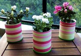 Craft Design Ideas 20 Tin Can Craft Ideas Flower Vases And Plant Pots