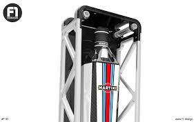 martini bottle williams martini racing limited edition bottle concept on