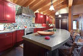 red cabinets in kitchen red kitchen design ideas pictures and inspiration