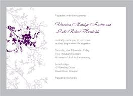 wordings sample wedding invitation template free download also