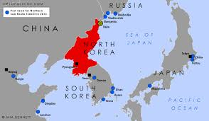 Northeast Map North Korea And The Northern Sea Route Best Of Northeast Asia Map