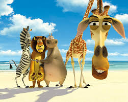 Cute Wallpapers For Kids 20 Blue Carton Wallpapers For Kids Madagascar Dreamworks And Movie