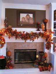 Harvest Decorations For The Home The 25 Best Fall Mantle Decor Ideas On Pinterest Fall Fireplace