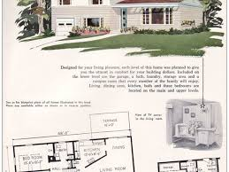 Vintage Home Design Plans 1950 S Modern Home Plans House Plans