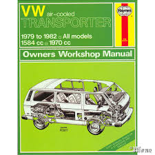 vw air cooled transporter manual english j h haynes vw classic