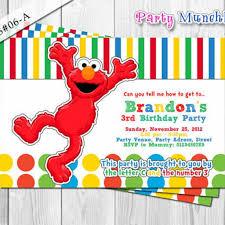 elmo sesame street invitation elmo sesame street birthday invite