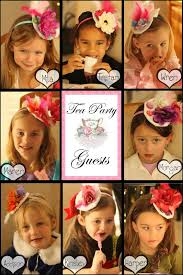 tea party fascinators tea party each girl makes their very owntea party fascinator hat