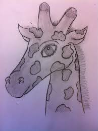 how to draw a giraffe snapguide