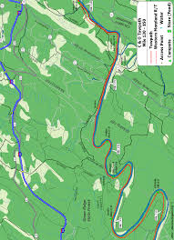 Green Ridge State Forest Camping Map by The C U0026o Canal Bicycling Guide Mile 130 Thru 150