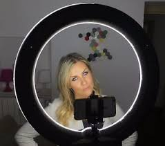 circle light for video socialite 18 dimmable photo video led ring light kit stand