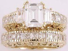 princess cut cubic zirconia wedding sets cz cubic zirconia 7 carat 11x11 princess cut square solitaire