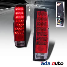 nissan pickup 1997 for 1986 1997 nissan hardbody d21 pickup red clear led tail lights