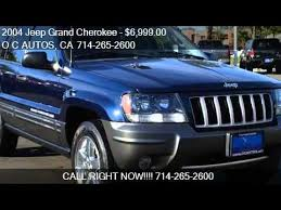 jeep 2004 for sale 2004 jeep grand columbia edition for sale in sant