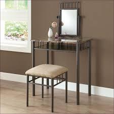 Makeup Vanity With Chair Bedroom Marvelous Makeup Desk With Mirror Women U0027s Vanity Table