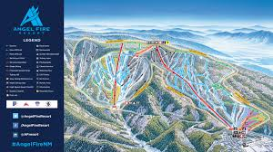 Park City Utah Trail Map by Angel Fire Resort Trail Map