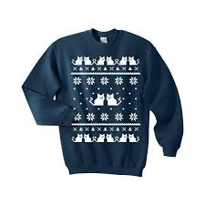 jeep christmas shirt cat sweater ugly christmas sweatshirt unisex sizes s m