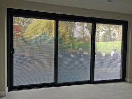 Panel Track For Patio Door Triple Panel Sliding Patio Doors Pricestriple Tulsatriple