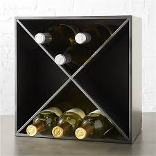 Walnut Wine Cabinet Cellar 12 Bottle Wine Rack Cb2