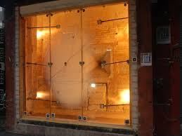 fire proof doors with glass joint glazing with schott pyranova specialty glass inside a