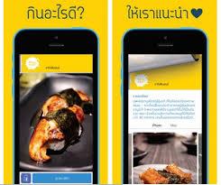 application cuisine application อาหารยอดฮ ต