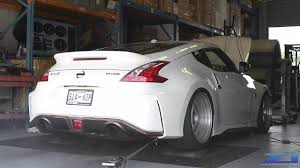 nissan 370z nismo wheels 2015 nissan 370z nismo aam twin turbo dyno youtube