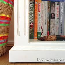 how to makeover a pine bookcase honey u0026 roses