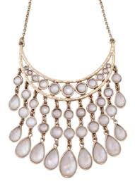 brand gold necklace images Lucky brand gold and white 70 off gold tone collar bib necklace jpg