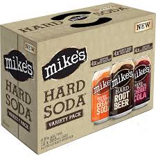 how much alcohol is in mike s hard lemonade light mike s hard soda mixer pack 22345 manitoba liquor mart