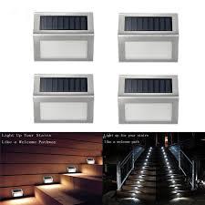 solar lights for indoor use 4pcs lots solar light outdoor indoor waterproof stair lights mini