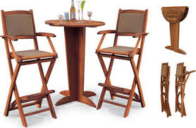 Cheap Bar Height Patio Furniture by Dining Room Amazing Anderson Teak Patio Bahama Bistro Folding
