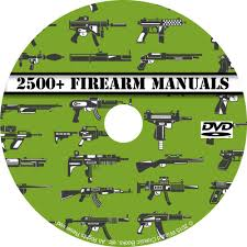 2500 firearm manuals dvd rifle carbine pistol shotgun revolver