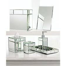 charter club mirrored accessories flat mirror thisnext crystal