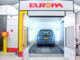chambre de peinture automobile cabine de peinture mixte modele la differente