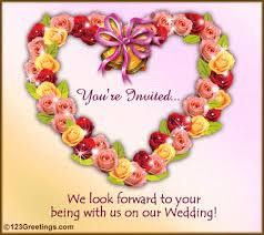 marriage greeting cards you are invited free wedding ecards greeting cards 123 greetings