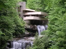 Frank Lloyd Wright Waterfall by Fallingwater Pennsylvania Frank Lloyd Wright U2013 Arkhitekton