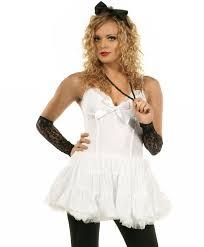 80 u0027s material women u0027s costume madonna fancy dress costume