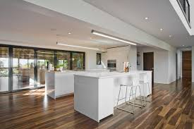 recessed baseboards wood floors with white baseboards kitchen modern with fluorescent