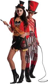 Lion Tamer Costume Couples Bloody Circus Directors Fancy Dress Costume Fancy Me Limited