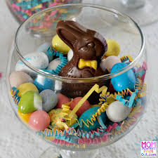 Easter Edible Decorations by Easy Edible Easter Decorations To Make Easter Candy Jars