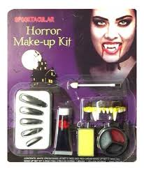 halloween make up kits zombie vampire devil complete make up sets