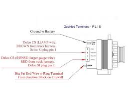 3 wire gm alternator schematic wiring diagram simonand